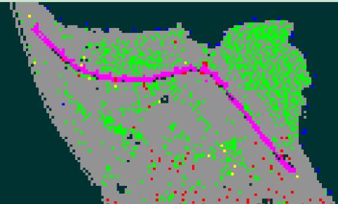 发几个山区地形图给新来的练习用