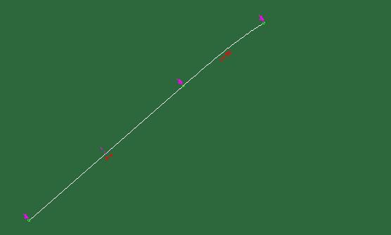 曲线法绘制道路路线的方法