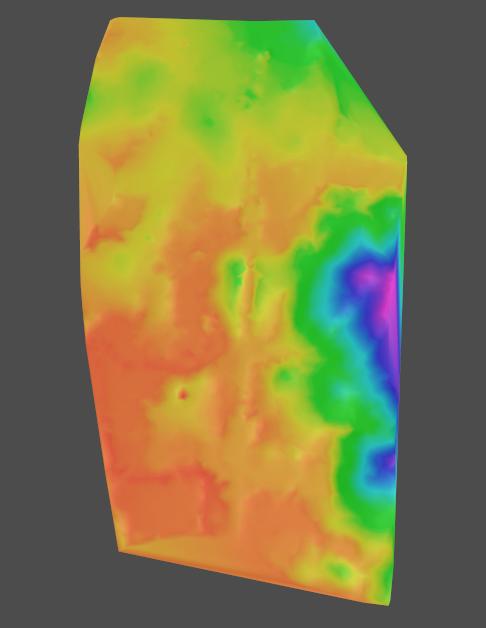 路易地形图创建曲面的方法