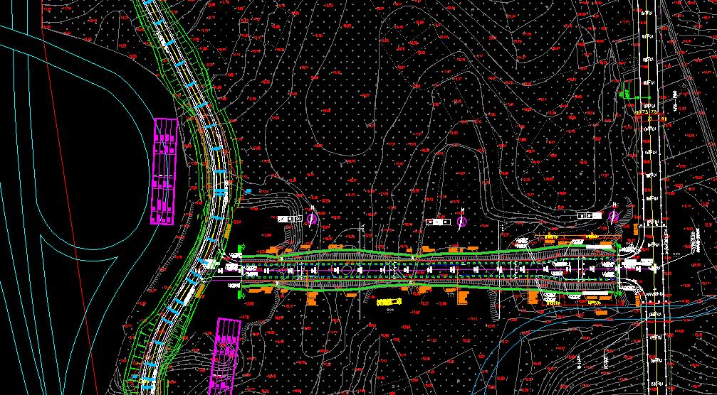 鸿业道路设计断面和边坡模板定制后如何带帽