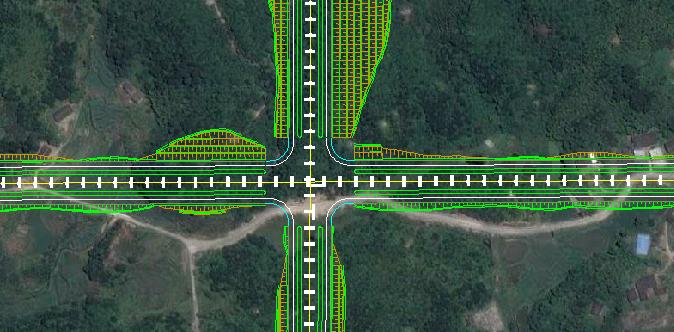鸿业道路设计中的自动还原命令