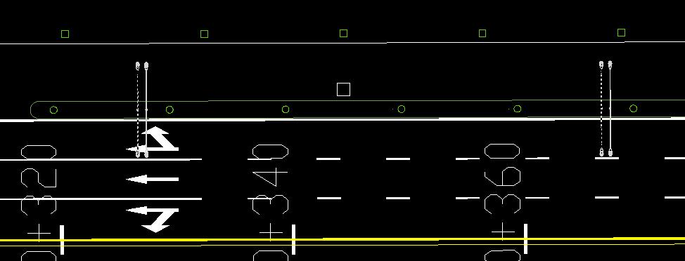 鸿业道路设计如何定义绿化编组