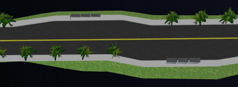 鸿业道路设计港湾停靠站布置的方法