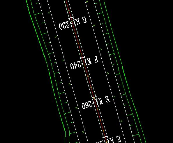 鸿业道路设计道路板块变宽设置总结