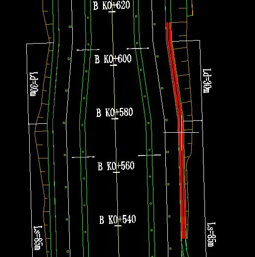 鸿业道路设计沟底拉坡设计