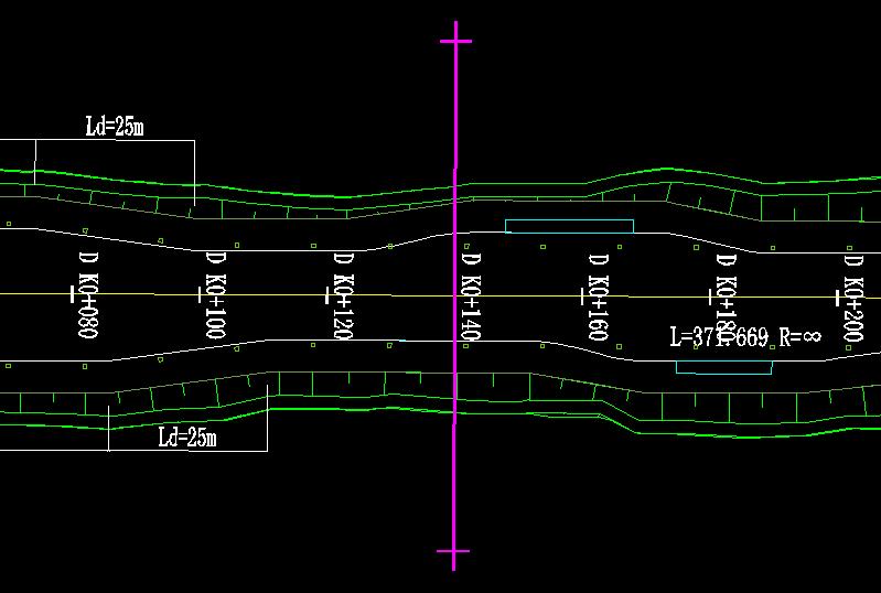 鸿业道路设计如何定义裁图线和编辑裁图线