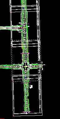 鸿业道路设计如何按图框来自动裁图