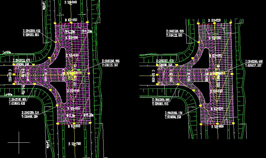 市政道路交叉口竖向设计编辑工具