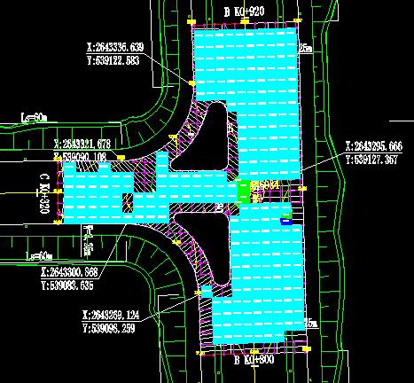 道路交叉口竖向设计板块检查