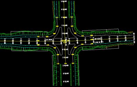 鸿业道路设计交叉口竖向设计教程