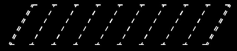 鸿业道路设计永久停车和临时停车位置的绘制方法