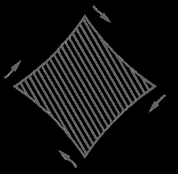鸿业道路设计禁止标线的绘制方法