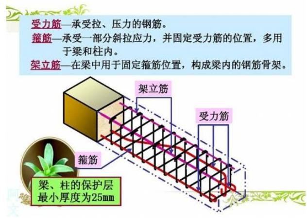结构设计中钢筋的常用识别方法总结